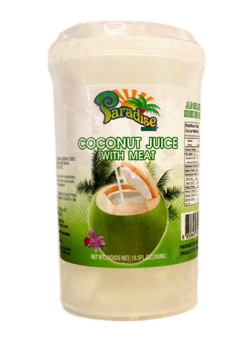 frozen coconut juice with meat 300ml paradise frozen coconut juice ...